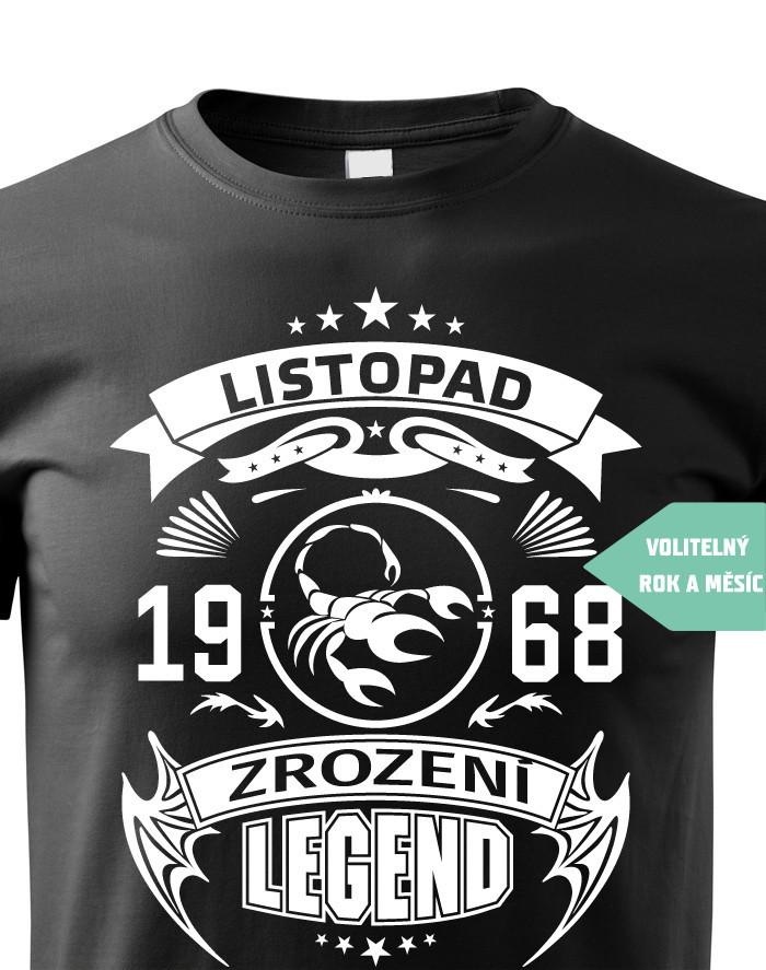 Pánské tričko Zrození legendy