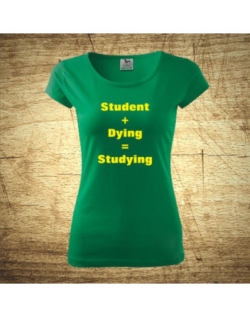 Student plus dying - Studying