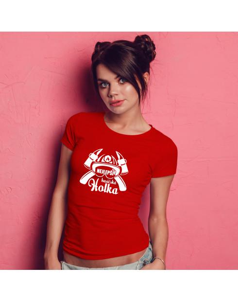 Hasičské tričko Nejlepší hasičská holka