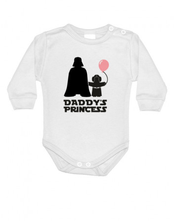 Body s potiskem Star Wars Daddys Princess