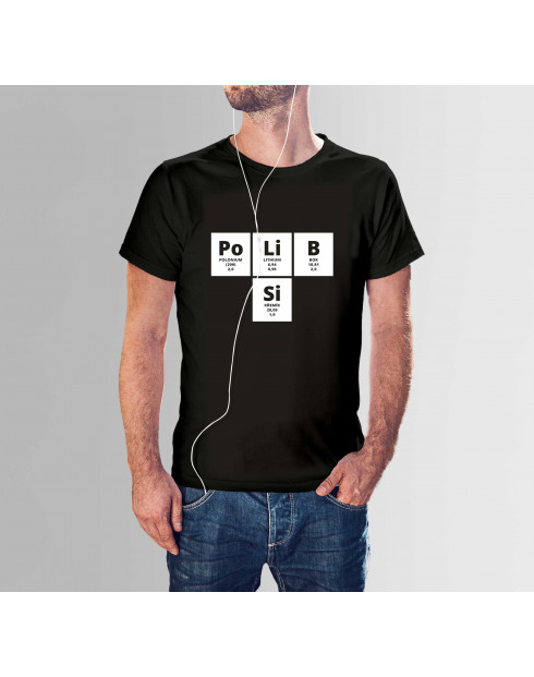 Pánské tričko s potiskem PoLiB Si