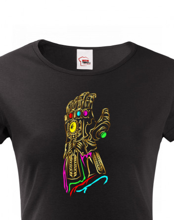 Dámské tričko s motivem Thanos Infinity War
