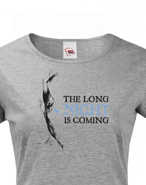 Dámské tričko Night King - White Walker