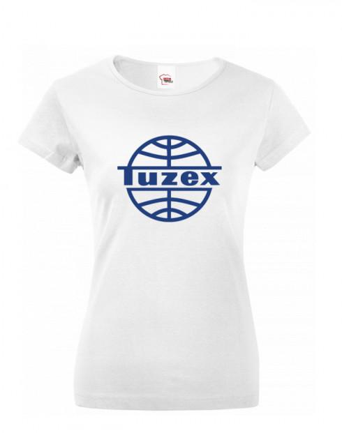 Dámské tričko s potiskem Tuzex