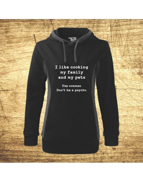 I like cooking