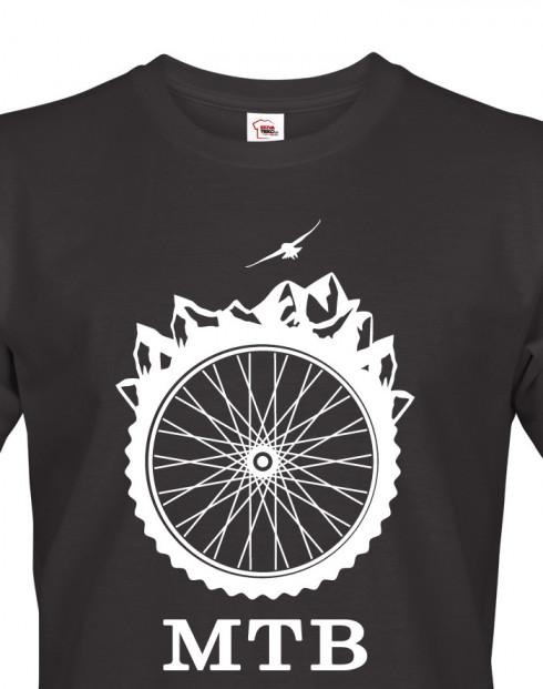 Pánské tričko MTB - pro milovníky horských kol