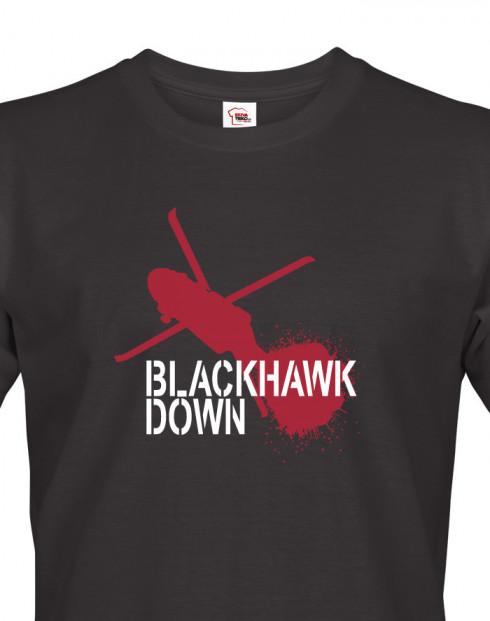 Pánské army tričko Black Hawk Down
