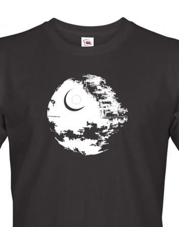 Pánské tričko Star Wars s Hvězdou smrti
