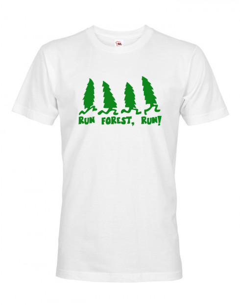 Pánské tričko Run forest, Run!