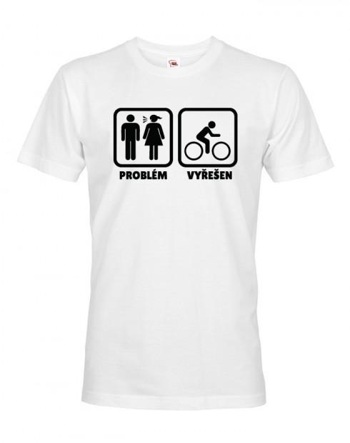 Pánské tričko pro cyklisty Problém vyřešen