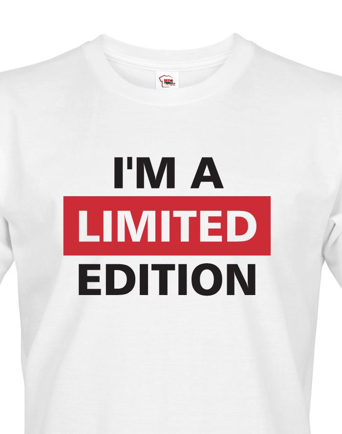 Pánské tričko I´a m limited edition