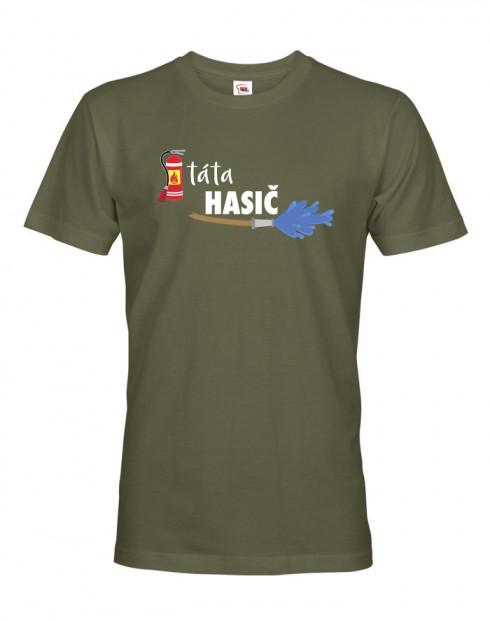 Pánské tričko pro hasiče Táta hasič