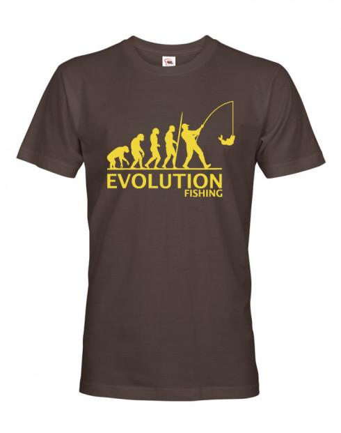 Tričko pro rybáře Rybářská evoluce