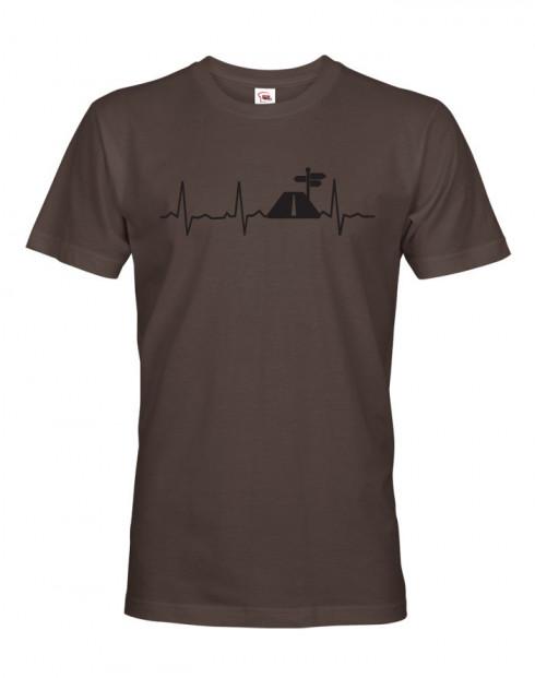 Pánské tričko Tep cestovale