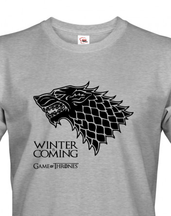Pánské tričko Winther is Coming - Games of Thrones