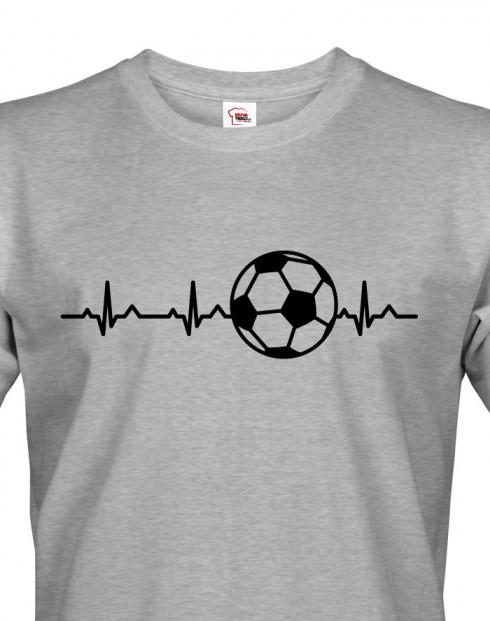 Pánské tričko Tep fotbalisty
