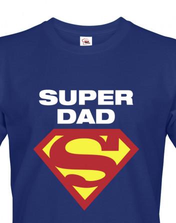 Vtipné tričko pro super tatínky Super Dad