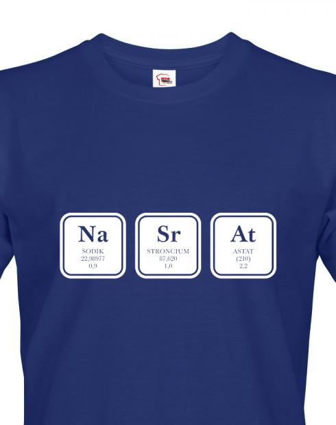 Pánské tričko s potiskem NaSrAt