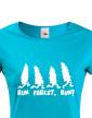 Dámské tričko Run forest, Run!