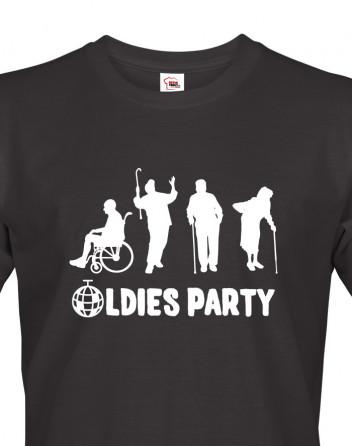 Pánské triko OLDIES PARTY