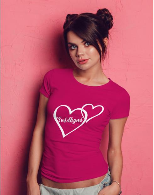 Dámské tričko na rozlučku Svědkyně 2