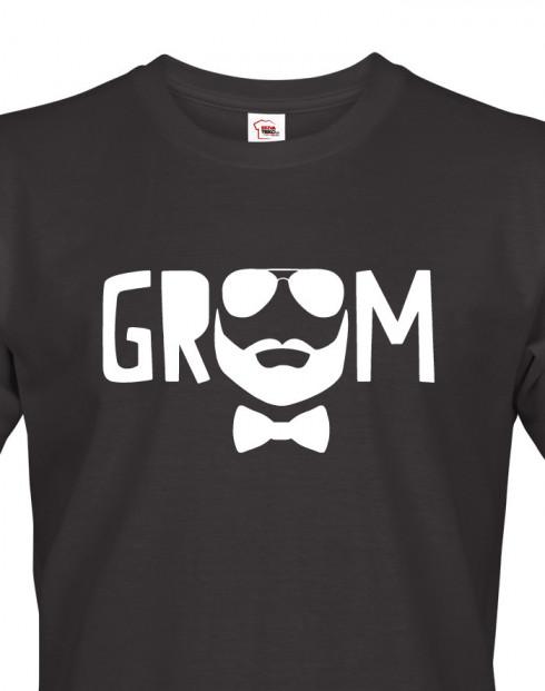 Pánské tričko pro ženicha Groom