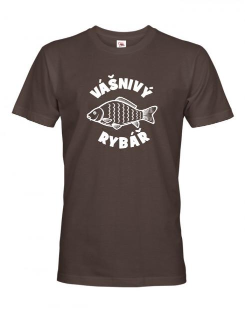 Triko pro rybáře Vášnivý rybář