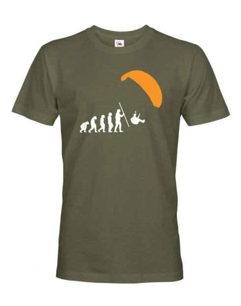 Pánské tričko Paragliding evolution