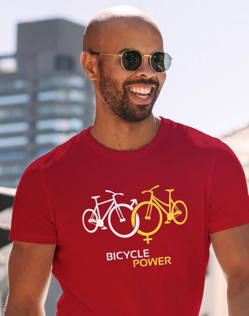 Pánské tričko pro cyklisty Bicycle Power