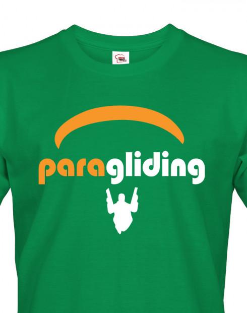 Pánské tričko s motivem Paragliding 2