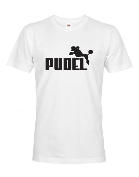Pánské tričko s potiskem Pudel
