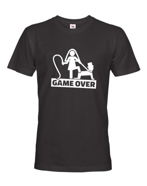 Pánské tričko na rozlučku Game Over 3