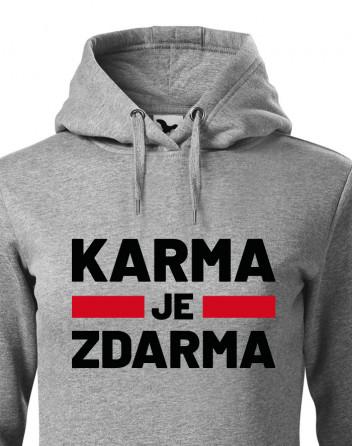 Dámská mikina Karma je zdarma