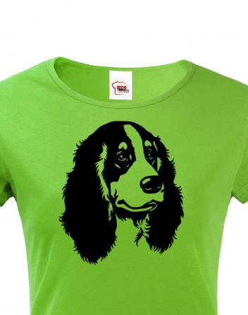 Dámské tričko s motivem Kokršpaněla