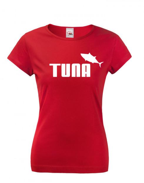 Dámské tričko s potiskem Tuna