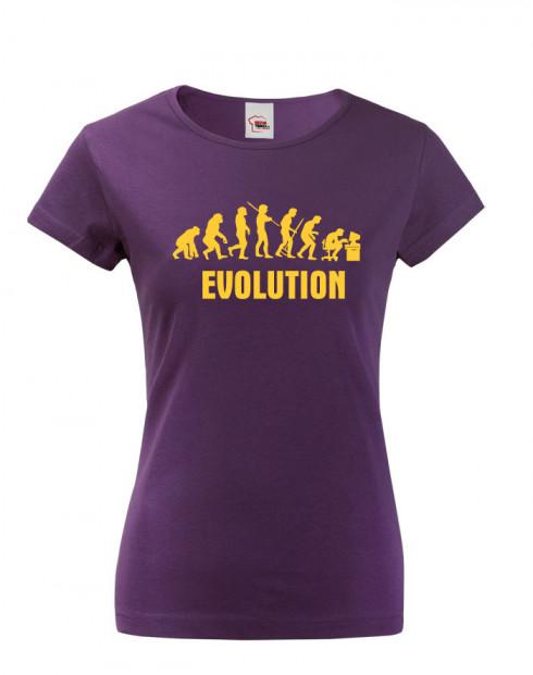 Dámské tričko s potiskem Evoluce IT
