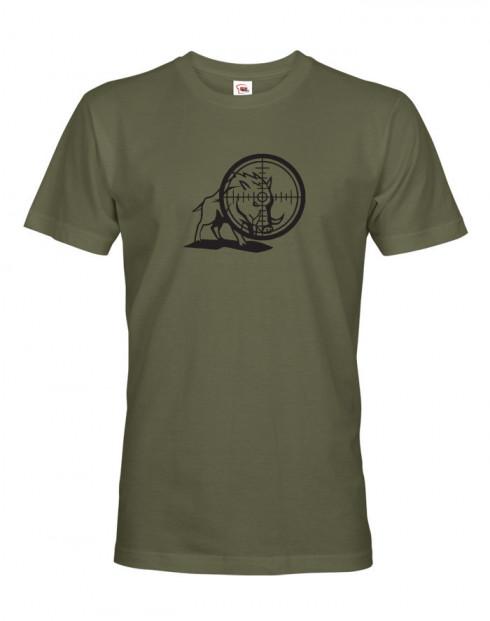 Tričko pro myslivce Divočák