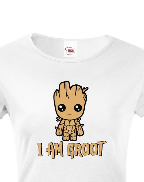 Dámské tričko Groot z filmu Strážci galaxie 2