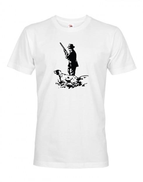 Tričko pro myslivce Německý ohař