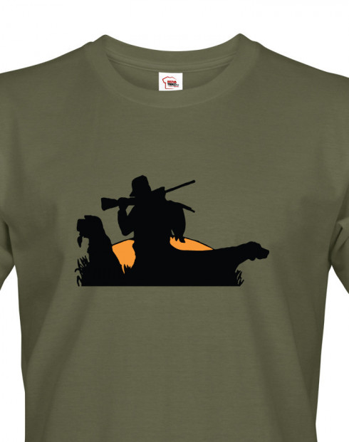 Tričko pro myslivce Konec lovu