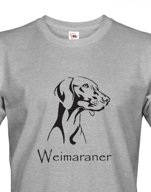 Tričko pro myslivce Výmarský ohař