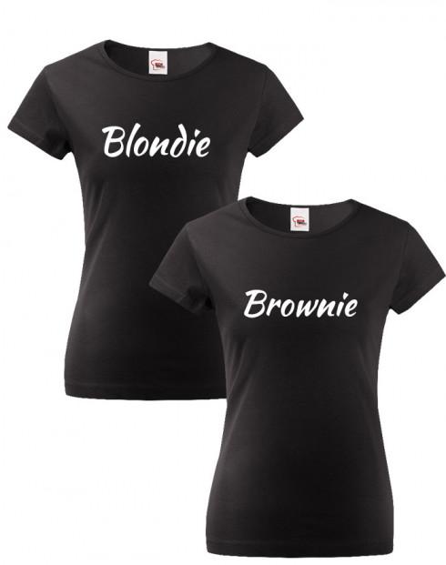 Dámská trička Blondie a Brownie