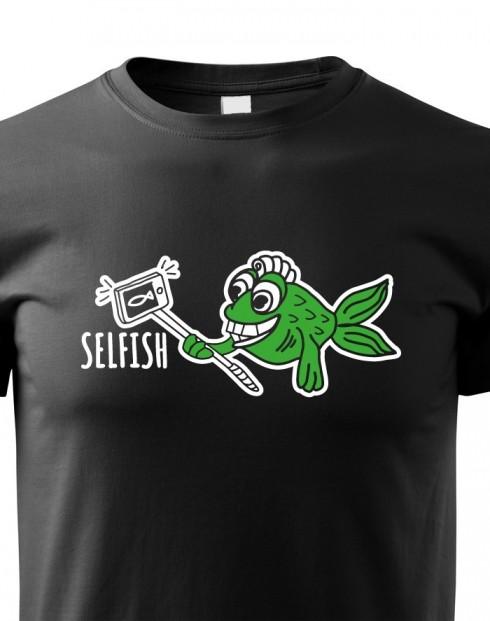 Dětské tričko Selfish
