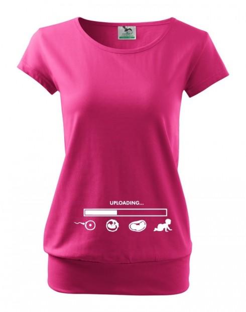 Tričko pro těhotné maminky Uploading...