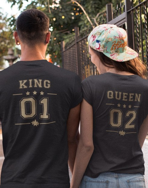 Párová trika King a Queen