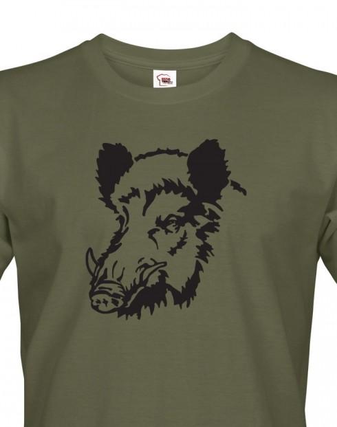 Tričko pro myslivce Prase divoké