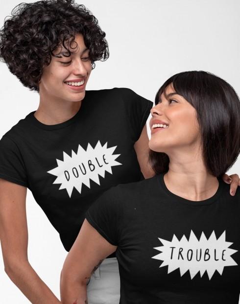 Dámská BFF trička Double trouble