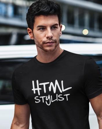 Pánské tričko HTML stylist