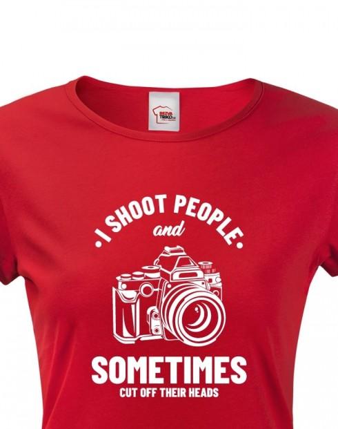Dámské tričko pro fotografy