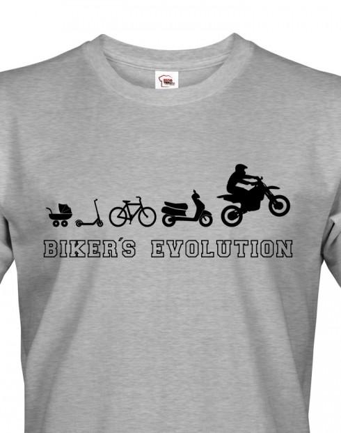 Pánské triko pro motorkáře